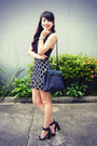 Navy-hermes-bag-black-h-m-heels-navy-pinkaholic-skirt-black-forever-21-top