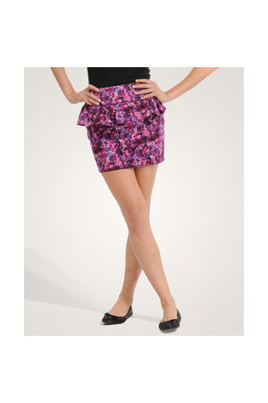 purple Forever21 skirt