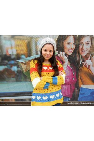 yellow Lovely wholesale sweater