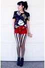Black-lita-jeffrey-campbell-boots-neutral-tights-red-velvet-unif-shorts