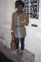 bag - dress - shoes - jacket