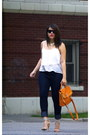 Forever-21-jeans-rampage-bag-ray-ban-sunglasses-forever-21-heels