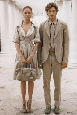 Bottega Veneta dress - purse - shoes - suit