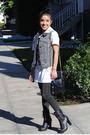 White-zara-shirt-gray-heritage-1981-leggings-black-forever-21-boots-herita