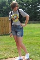 Target shoes - H&M shorts - Old Navy t-shirt - H&M vest