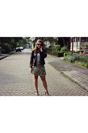 Zara shoes - Zara jacket - Zara skirt