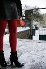 Red-topshop-coat-black-thrifted-vintage-dress-ruby-red-bepon-stockings-bla