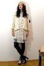 Asos-boots-stella-mccartney-dress-kimono-lace-vintage-jacket