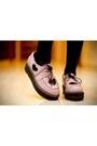 Light-blue-gradient-topshop-shorts-light-pink-ebay-shoes