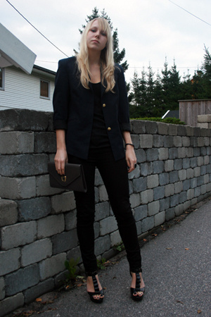 DIY: Navy Blazer