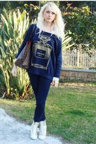 Brendy t-shirt - abercrombie and fitch jeans - Louis Vuitton purse - Tarina Tara