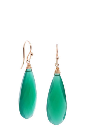 green elizabeth lewis earrings