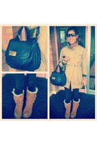 MBMJ bag - Ugg boots - Jimmy Choo sunglasses - Michael Kors watch