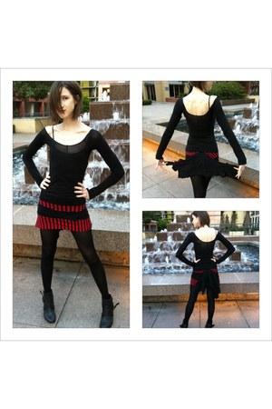 old stockings EllenC skirt - EllenC shirt