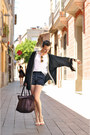Ivory-esska-shoes-black-kimono-karavan-jacket-navy-high-waisted-oasap-shorts