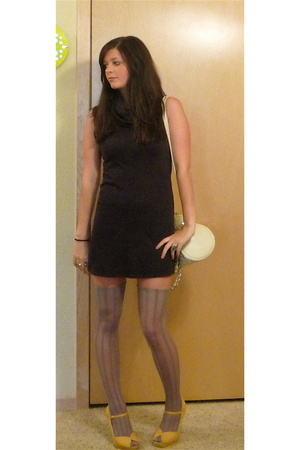 American Apparel dress - Charlotte Russe shoes - stockings cut from an old pair