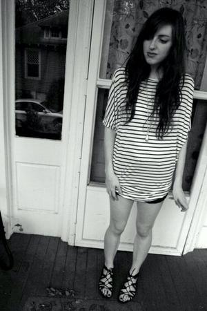 DIY shorts - H&M shirt - Target shoes - wal-mart necklace