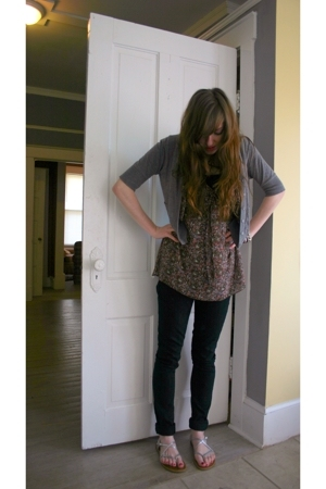 Charlotte Russe shirt - Target sweater - Urban Outfitters pants - payless shoes