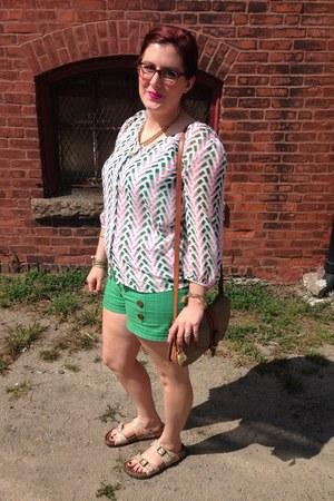 white Ignition Clothing blouse - eggshell Dooney & Bourke bag