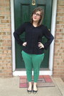 Black-firmoo-glasses-black-forever-21-blouse-green-old-navy-pants