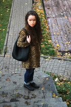 leopard Oasis coat