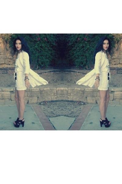 Vero Moda shorts - Promod blazer - Vero Moda t-shirt - Juicy Couture accessories