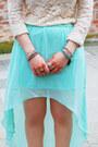 Aquamarine-longer-hem-new-yorker-skirt-ivory-lace-nasty-gal-top