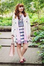 Silver-bike-print-sugarhill-boutique-dress-cream-stradivarius-coat