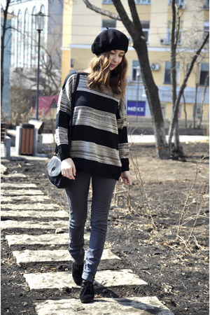striped Mango sweater