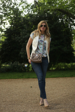 Aldo shoes - Zara jeans - Michael Kors bag