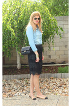 Atmosphere shirt - Chanel shoes - Chanel bag - Zara skirt