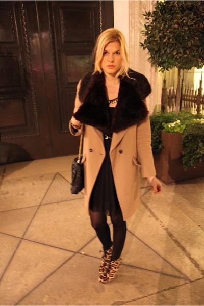 Emilio Pucci boots - Alberta Ferretti dress - Oasis coat - vivienne westwood bag