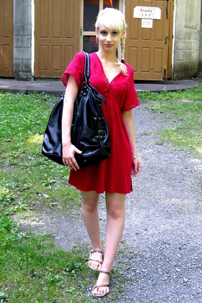 Urban Outfitters dress - Lollipops purse - Spring shoes