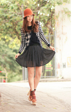 Black-checkered-jacket
