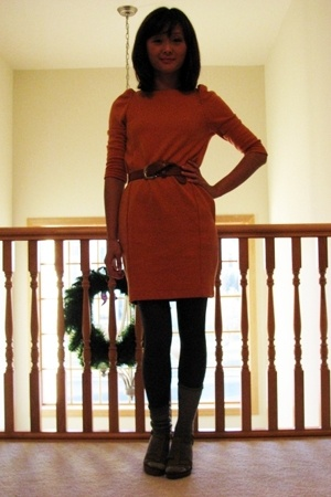H&amp;M dress - Old Navy belt - Target shoes