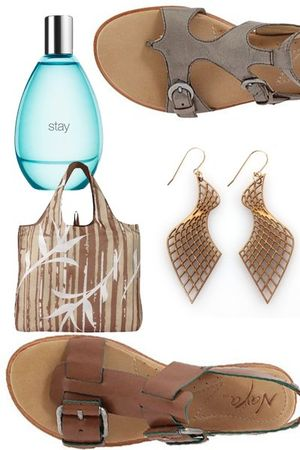 blue Gap accessories - silver Naya shoes - brown Target accessories - gold Moxsi