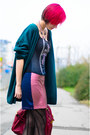 Oversize-second-hand-cardigan-corset-second-hand-top-nowistyle-skirt