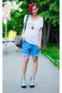 Camo-h-m-boots-denim-boyfriend-vintage-shorts