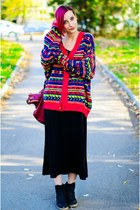 second hand cardigan - nowIStyle dress
