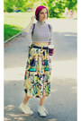 Diy-top-vintage-skirt