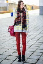 nowIStyle sweater - New Yorker jeans - aztec nowIStyle scarf