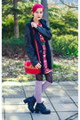Nowistyle-dress-leather-sleeves-nowistyle-coat