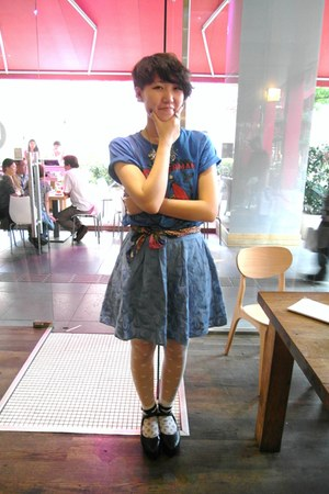 asoscom skirt - Uniqlo t-shirt