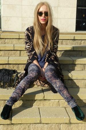 handmade bag - Penelope Chilvers boots - ray-ban sunglasses