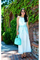 Dolce Vita dress - kate spade bag