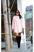 Zara dress - Topshop coat