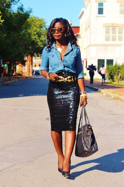 Blue-chambray-nobo-shirt-black-sequins-asos-skirt_400