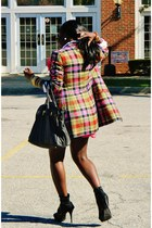 bubble gum plaid oliver jacket