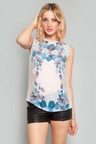 Blue Valentine Top