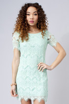 Mint-lace-dress-dress